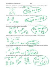 percent word problems tax tip discount pdf