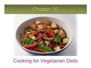 Ch 20 Cooking for Vegetarians