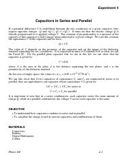 Lab # 4 - Capacitors in Series and Parallel.pdf