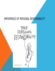 Importance of personal Responsibility.pptx