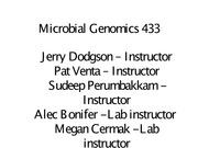 Week1 Lecture EColi_intro_microgenomics