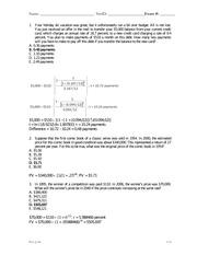 ServSafe Practice Test Key(1) - Practice Tests and Answer ...