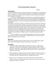 electron density lab - OBJECTIVES When you have completed this ...