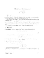 EEE 303 Notes- System properties.pdf
