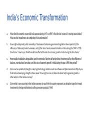 Questions - India's Economic Transformation.pptx