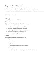 trophic levels lab completed.doc   Trophic Levels Lab ...