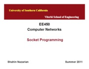 EE450-U4-SocketProgramming-Nazarian-Summer11