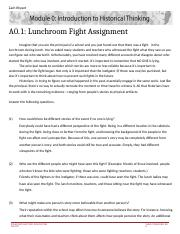 M0A1 Lunchrooom Fight (2).docx