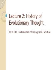 2-History of Evolutionary Thought (1).pptx