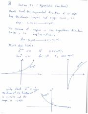Section 7.7 - Hyperbolic Functions