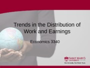 5 Section Five - Trends in the Distribution of Work and Earnings - Summer 2013 B