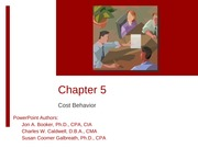 Session 11 - Managerial Chapters 5 & 6(1)