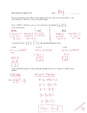 Math 125 Exam 4 Key On Intermediate Algebra