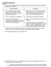 AP Biology Notes - Ch. 9 & 10