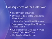 6 Cold War Continued