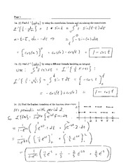 Final Exam Solution Fall 2004 on Ordinary Differential Equations