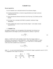 Physics 102 Chapter 23-24 notes