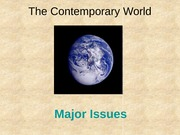 48 - 49 Contemporary World lecture