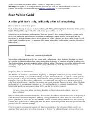 Star White Gold  A White Gold That's Truly, Brilliantly White Without Plating  Arden Jewelers.htm