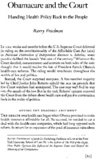 Friedman.obamacare and court(1)