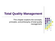 Ch02 Total Quality Management