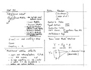 Stat 511 Theory of Linear Models Notes