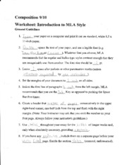 English Composition Notes introduction