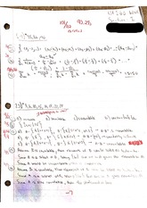 Sequences and Summation, Cardinality, Matrices HW