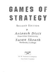 GT- Game Theory- Games of Strategy- Avinash Dixit & Susan Skeath- 2e Norton 2004