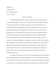 Laws Of Life Essay 2017