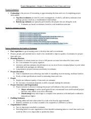 Project-Management-Ch.5
