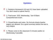 Test 3 Review (Final)