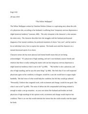 Research Paper Writing Help  Online Assignments Help The Yellow  Poetry Analysis Essay Poem Analysis Example Analysis Essay Literary  Analysis Essay Example The Yellow Wallpaper Literary