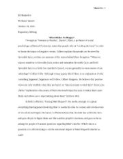 final essay 3 Final paper romeo and juliet english literature essay print if you are the original writer of this essay and no longer wish to have the essay published on.