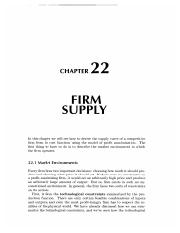22 Firm Supply