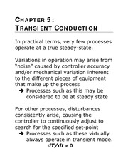 Chapter 5 -Transient Conduction 2012 - Web