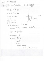 Calculus II Test 2 Solutions