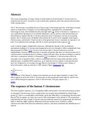 ORGANISATION & EVOLUTION OF THE YCHROMOSOME.docx