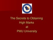 W1-b-how to get high grades at PMU