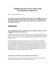 EN206 Into and Chp. 1 study guide
