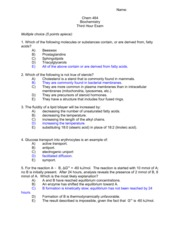 Exam 3 Solutions 2011
