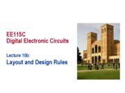 10b IC Layout and Design Rules