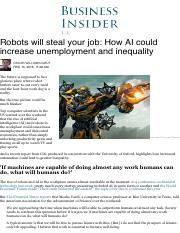 MBA4_Robots will steal your job