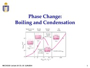 Lecture 18 Phase Change