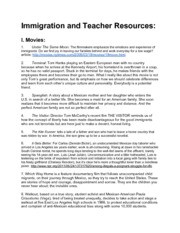 Immigration Resources for Educators