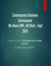BC3 -Contemporary World Trading Conditions-CBE HK block Sept 20 - Bev.pptx