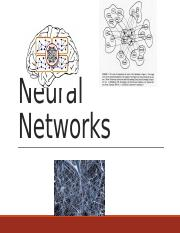 Neural network - Aging and Memory.pptx