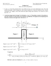 MSE Problem Set 5 2011 [Pot Step]