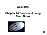 Acct 4120 Chapter 14 Spiceland 5th edition