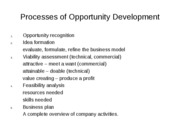 3a Processes of Opportunity Development